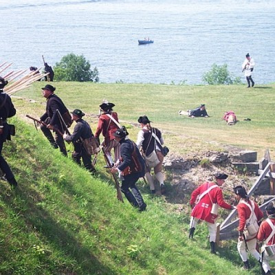 Assault on Fort Ontario